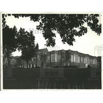1936 Press Photo Notre Dame Dining Hall - RRQ64749