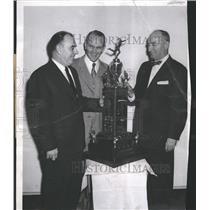 1956 Press Photo James Driscoll, Boston College & others - RRQ71183