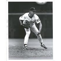 None Press Photo, Dave West Philadelphia Phillies - RRQ71689