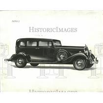 1933 Press Photo Studebaker United States South Bend - RRQ58675