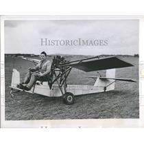 1953 Press Photo Douglas Bianchi Airplane - RRQ56793