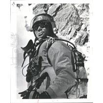1972 Press Photo Yuichiro Miura Mount Everest Training - RRQ49601