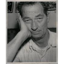 1957 Press Photo Henry Frederic Lawrence Turner British - RRX48897