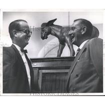 1957 Press Photo Jim Free, Washington Correspondent, Birmingham News, Other
