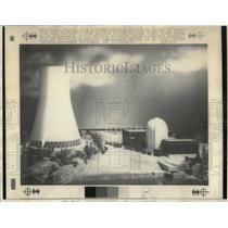 1971 Press Photo Portland Gen Electric Nuclear Plant - RRW87485