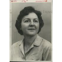 1959 Press Photo Miss Martha Hood, Birmingham News Social Department - abna31998