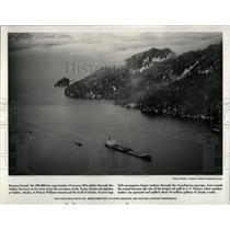 Prees Photo Panama bound Valdez Narrows terminus