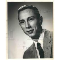 1960 Press Photo Wendell Harris, WAPI News Commentator - abna34809