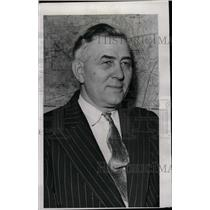 1943 Press Photo Fred Stephan Detroit Police inspector - RRW72421