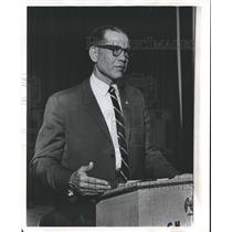 1966 Press Photo General E. M. Friend of Birmingham, Alabama - abno02550