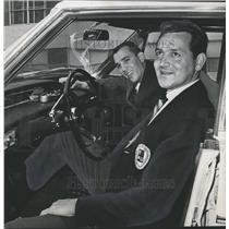 1966 Press Photo Nick Hondros and Bill Walker, Montgomery, Alabama - abno03284