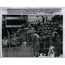 1925 Press Photo Member Field artillery Battalion Guard - RRX21147