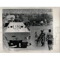1964 Press Photo United Nations Troops Youngsters - RRW68423