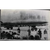 1957 Press Photo Russian Rocket Missiles Parade - RRX62199