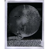 1963 Press Photo Air Density Explorer Satellite - RRX57583