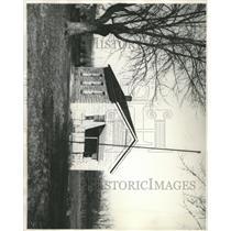 1931 Press Photo Rural School Glenn Valley Bossum Anne - RRX95311
