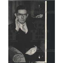 1937 Press Photo The School Superintendent W C Shaw - RRX88993