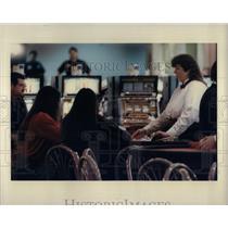 1994 Press Photo Gambling At Soo Casino