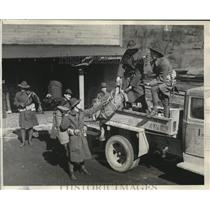1932 Press Photo Ohio National Guard took command in troubled Somers Mine Area