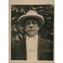 1924 Press Photo Samuel Gompers, President of the American Federation of Labor.