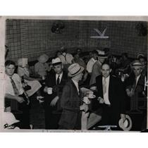 1937 Press Photo Strike Brennan Fitguard Restaurant - RRW86763