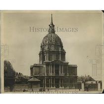 """1905 Press Photo Dome of """"Les Invalides,"""" where Napoleon Bonaparte is buried."""