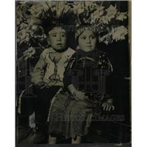 1933 Press Photo Red Hawak Alberta Miner - RRW23851