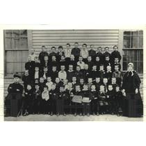 1886 Press Photo Class of 1886 at St. Gall's Parish, founded by the Jesuits.