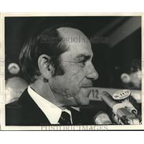 1972 Press Photo Yogi Berra after announcement he will manage NY Mets