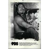 1984 Press Photo Native American Indian Prisoners - RRX45739