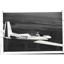 1977 Press Photo Sperber Sparrow glider - hca23693