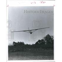 1977 Press Photo Sailplane flyers operate from three fields in the Houston area