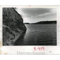 1950 Press Photo One Of The Prettiest Lakes In Wisconsin Is Yellowstone Lake