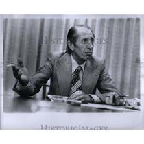 1974 Press Photo Dusko Popov Double Agent MI6 WWII - RRX55005