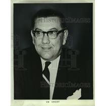 1972 Press Photo Ed Short, new General Manager of Chicago Cougars hockey team