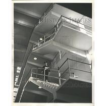 1938 Press Photo Guards Constant Duty McNeil Island Pen - RRW34631