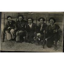 1936 Press Photo Bess Shephard Champion Sharpshooter - RRX61681