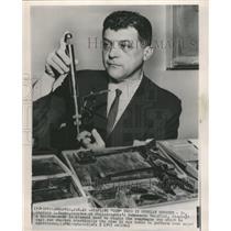 1963 Press Photo Philadelphia Hahnemann Hospital Sack - RRW48193