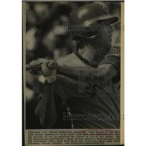 1975 Press Photo Chicago Cubs baseball player Rick Monday - sas13218