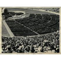 1936 Press Photo University of California Graduation - RRX61455