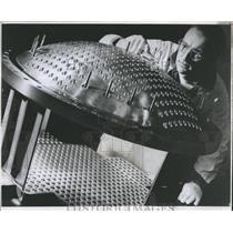 1962 Press Photo Allis Chalmers plant Sioux Falls - RRX82735