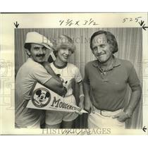 1977 Press Photo Don Bunin, Alice de Rochemont Goyne, Ron Phillips- Mouseketters