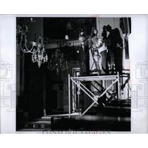 1959 Press Photo Photo Theodolite - RRW92855
