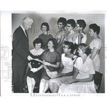 1959 Press Photo March Dimes president Basil Health Act