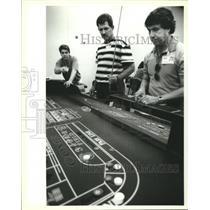 1994 Press Photo Shawn Breaud, David Meyer and Walter Batiansila, Superdome