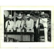 1994 Press Photo Musicians from the Folklore National of Honduras perform