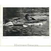 1994 Press Photo National Concrete Canoe Competition at City Park Lagoon
