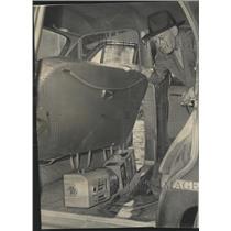 1954 Press Photo Cigaret Tax Killer Capt Andrew Aitken - RRW41207