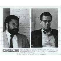 """1988 Press Photo Producer, Narrator of """"Eyes on the Prize"""" - nop26559"""