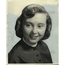1954 Press Photo Miss Mary Ann Hoffman - nob39345